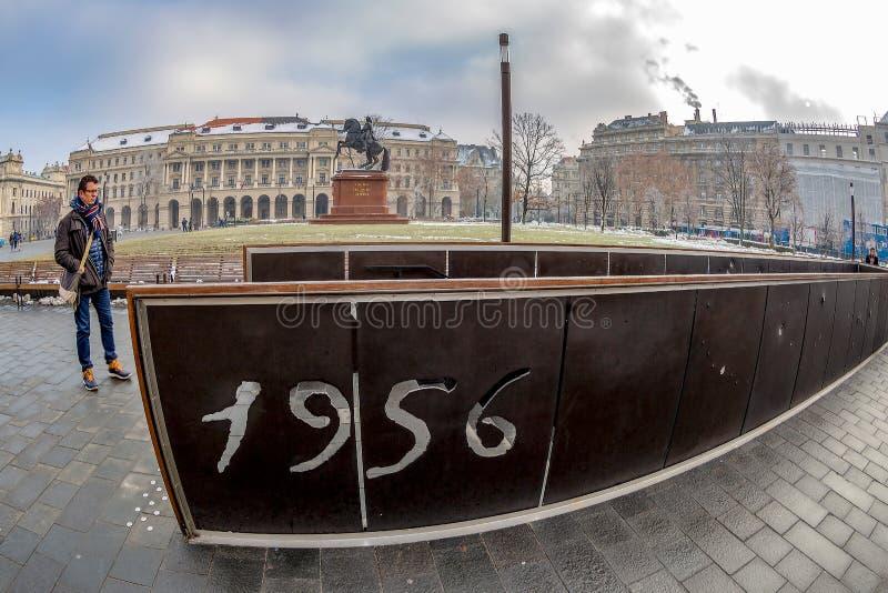 Memorial IN MEMORIAM 1956. OKTOBER 25 stock photography