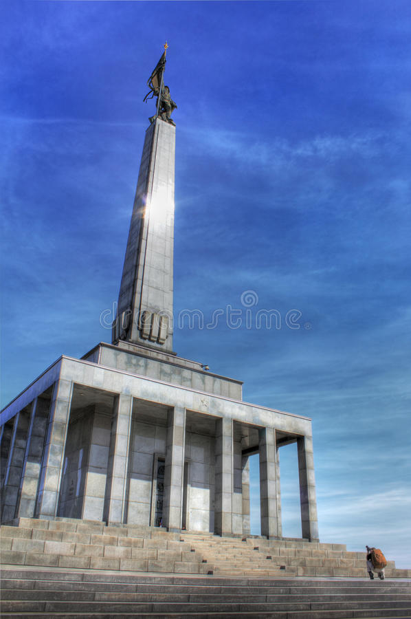 Memorial Monument For Fallen Soldiers Of World War Royalty Free Stock Image