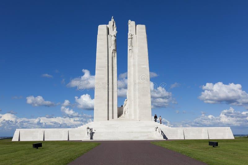 Memorial nacional canadense de Vimy fotos de stock