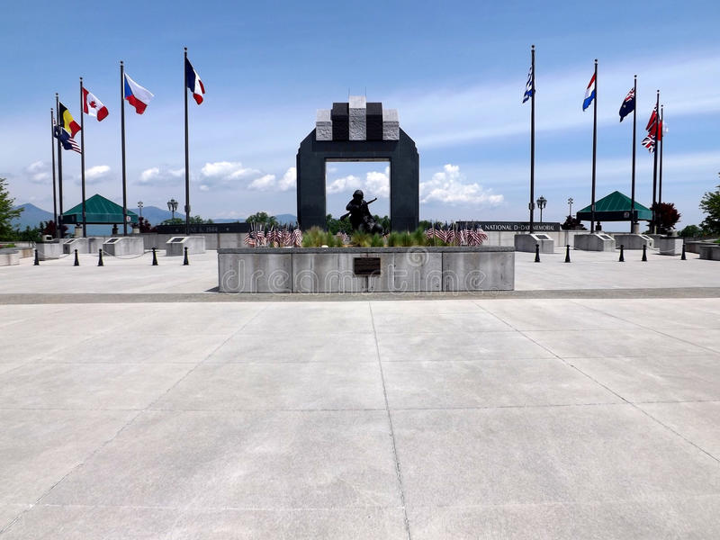 Memorial nacional do dia D, Bedford, VA, EUA foto de stock royalty free