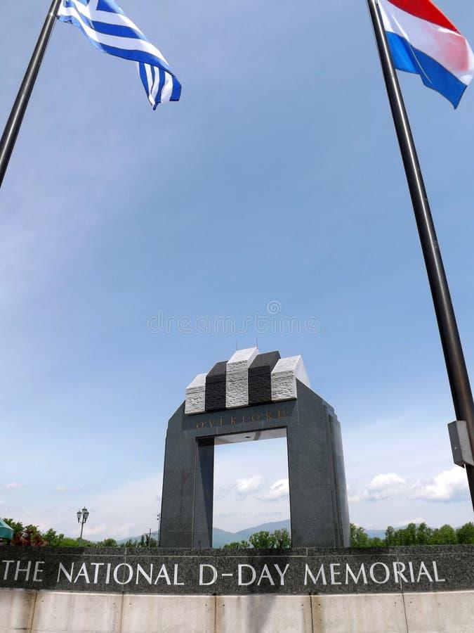 Memorial nacional do dia D, Bedford, VA, EUA imagem de stock royalty free