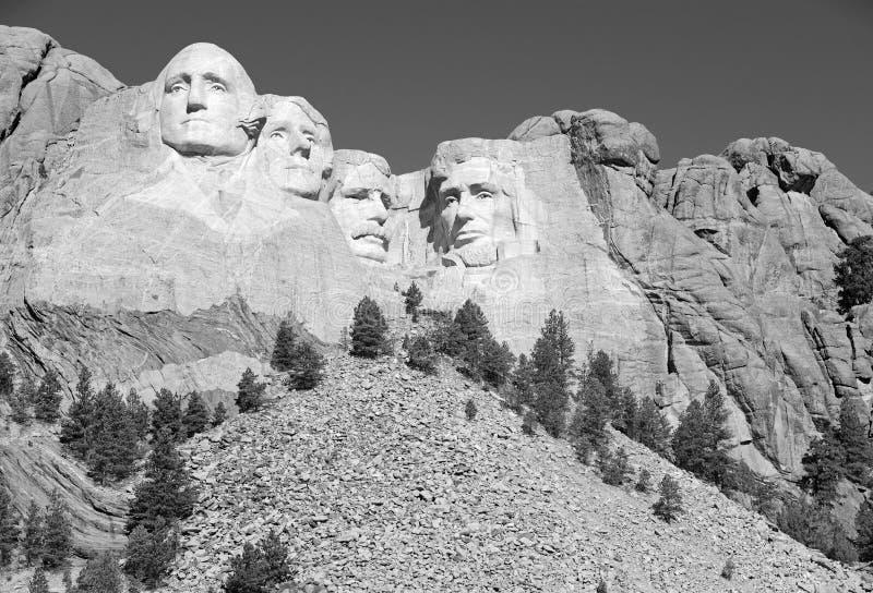 Memorial nacional do Monte Rushmore, Black Hills, South Dakota, EUA imagens de stock