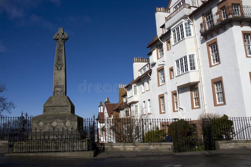 Memorial no castelo de Edimburgo fotos de stock royalty free