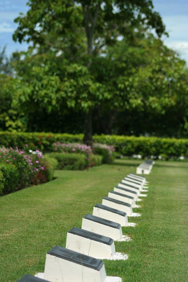 Memorial Park. A memorial park in Labuan, Malaysia royalty free stock photo