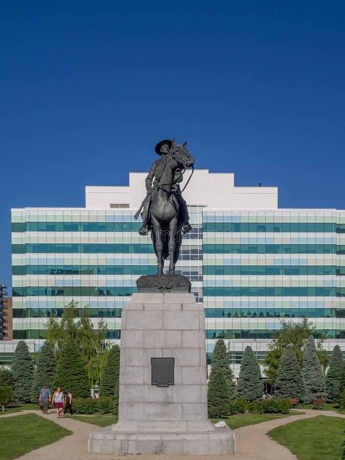 Memorial Park am 5. Juni 2016 in Calgary lizenzfreie stockfotografie