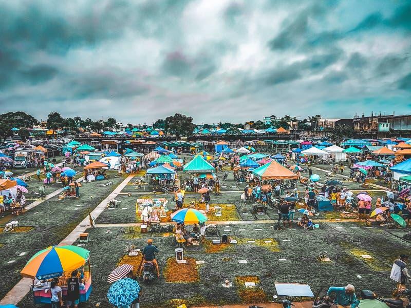Memorial Park na cidade Filipinas de Valenzuela imagem de stock royalty free