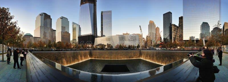 Memorial pools panorama at national 9 11 memorial for Pool trade show new york