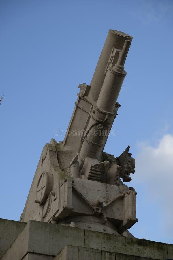 Memorial real da artilharia, Hyde Park Corner, Londres, Reino Unido imagem de stock royalty free