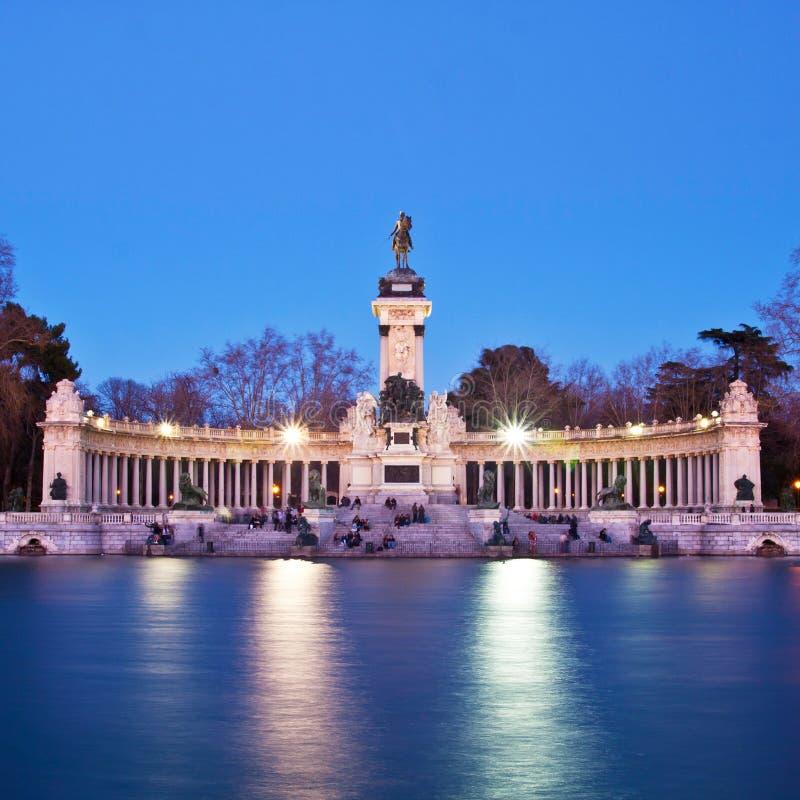 Download Memorial In Retiro City Park, Madrid Stock Image - Image: 33049615