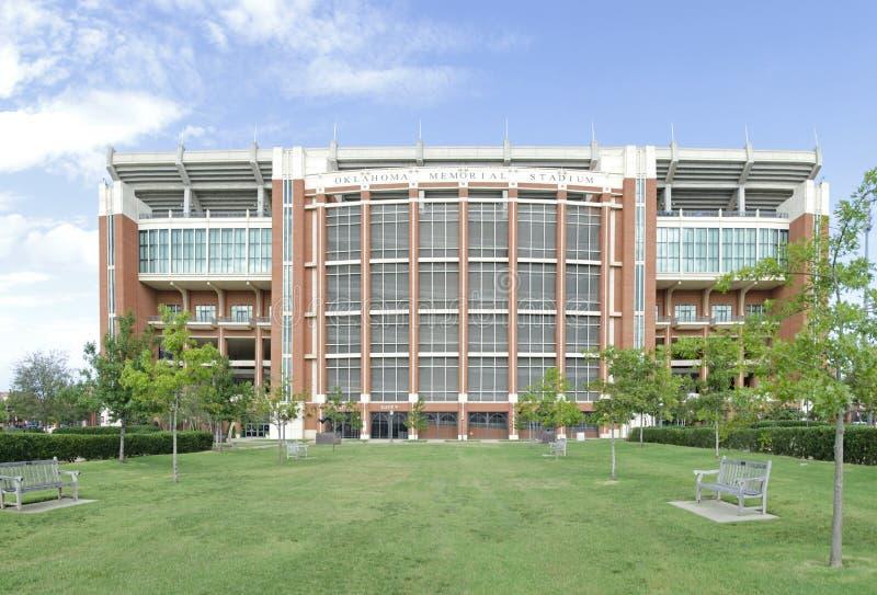 Memorial Stadium de Oklahoma imagem de stock
