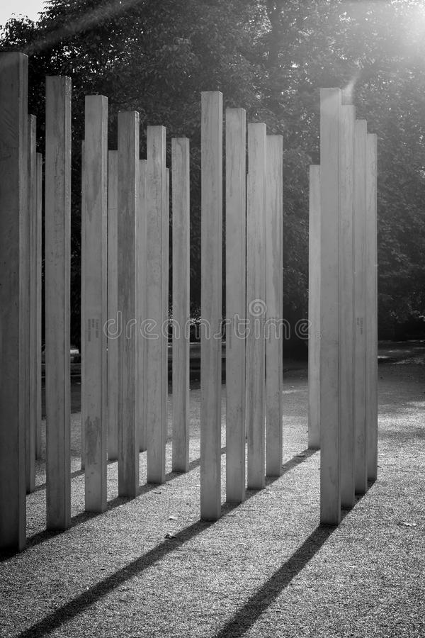 7/7 Memorial in the Sun royalty free stock images