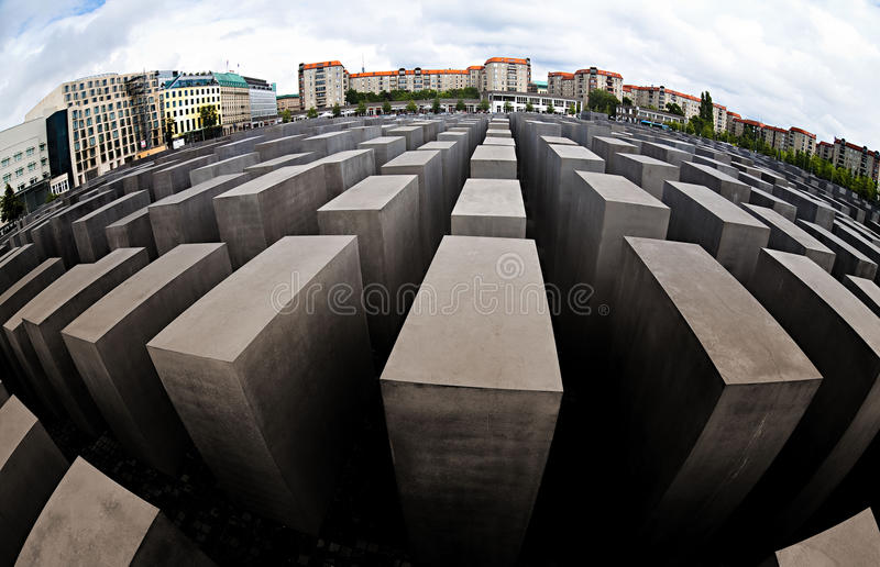 Memorial to the Murdered Jews of Europe royalty free stock image