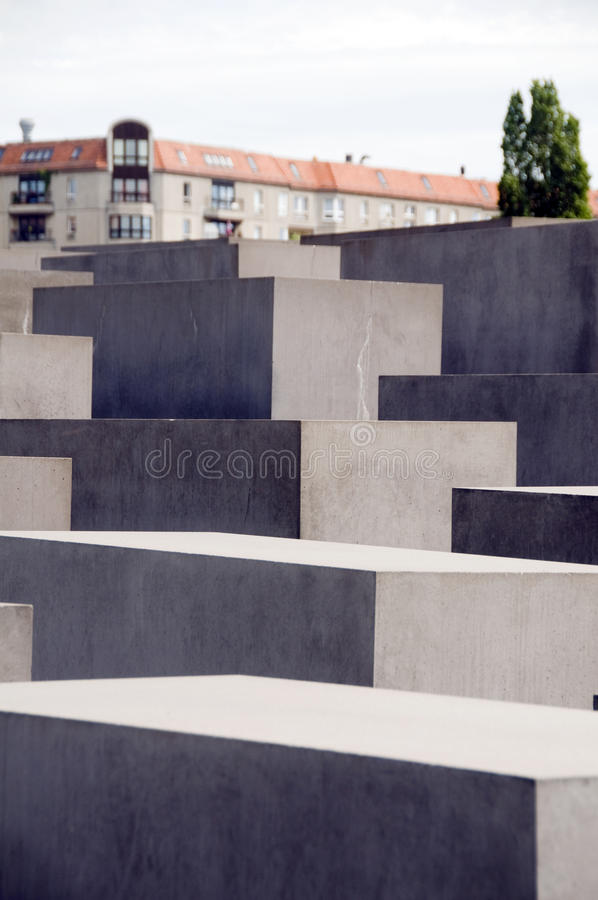 Memorial To The Murdered Jews Of Europe Berlin Editorial Photography