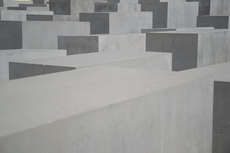 Memorial to the Murdered Jews of Europe, Berlin stock images