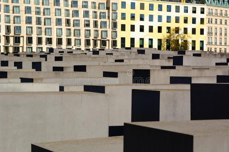 The Memorial to the Murdered Jews of Europe. Berlin. Germany. Berlin is the capital and largest city of Germany; the Memorial to the Murdered Jews of Europe is a royalty free stock photography