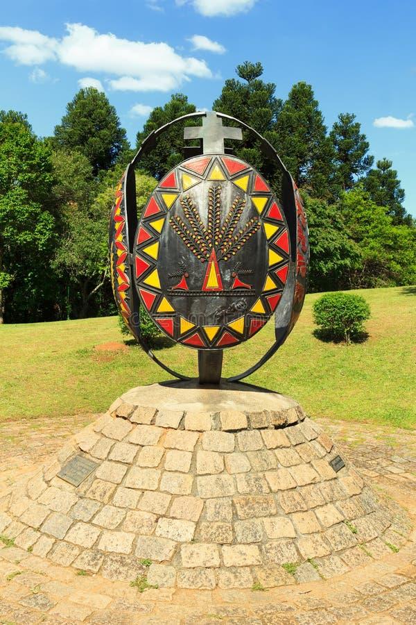 Memorial ucraniano, Curitiba, estado de Parana, Brasil fotos de stock royalty free