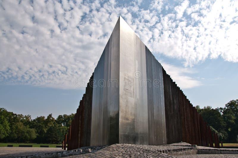 Memoriale ad una rivoluzione dei 1956 ungheresi, Budapest immagine stock libera da diritti