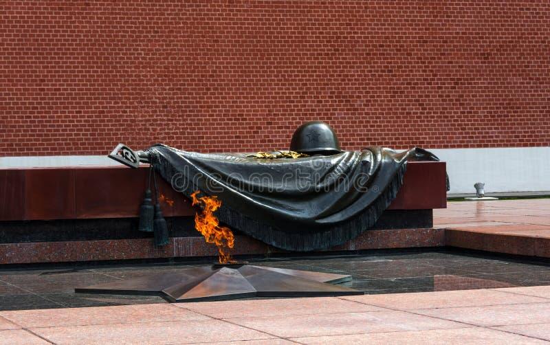Memoriale alla tomba del soldato sconosciuto fotografia stock libera da diritti