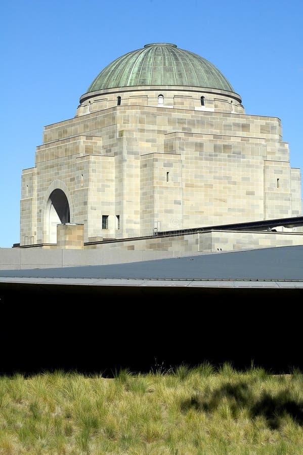 Memoriale australiano di guerra immagini stock