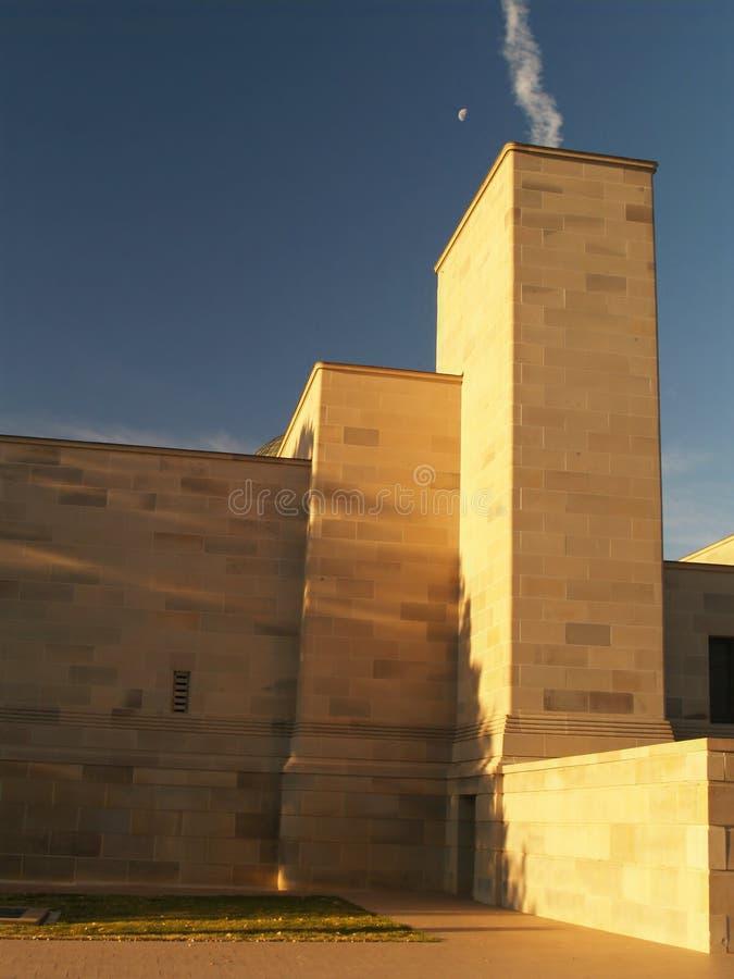 Memoriale australiano di guerra immagine stock libera da diritti