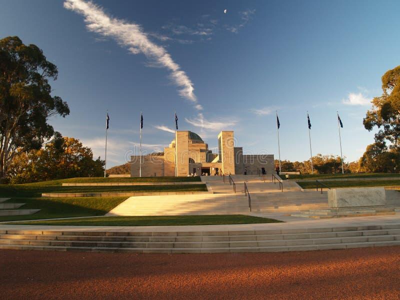 Memoriale australiano di guerra immagine stock