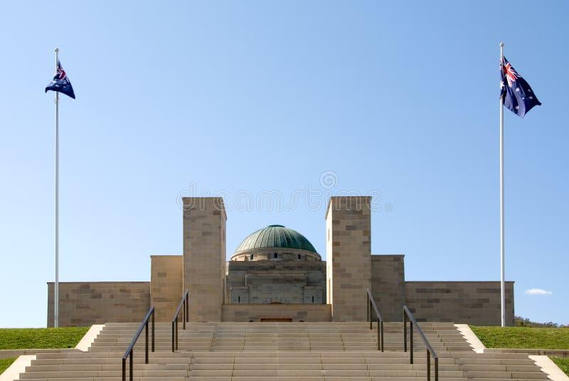 Memoriale australiano di guerra immagini stock libere da diritti