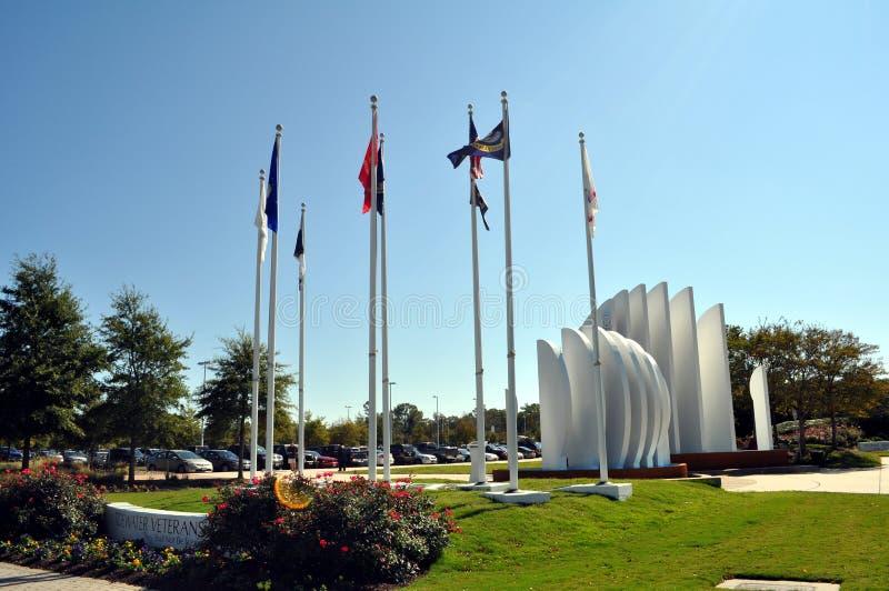 Memoriale dei veterani del Tidewater, Virginia Beach fotografia stock