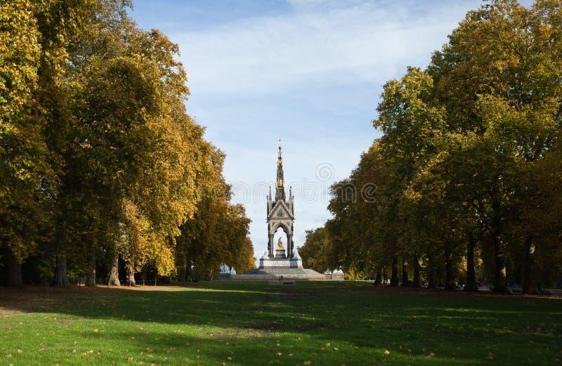 Memoriale del Albert. Hyde Park. Londra fotografia stock