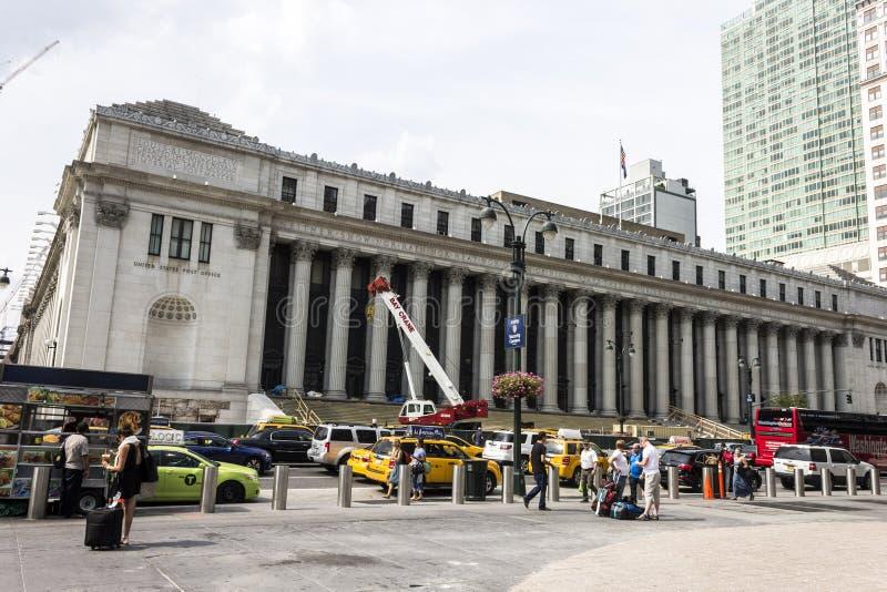 Memoriale del James A Farley Building, New York immagine stock libera da diritti