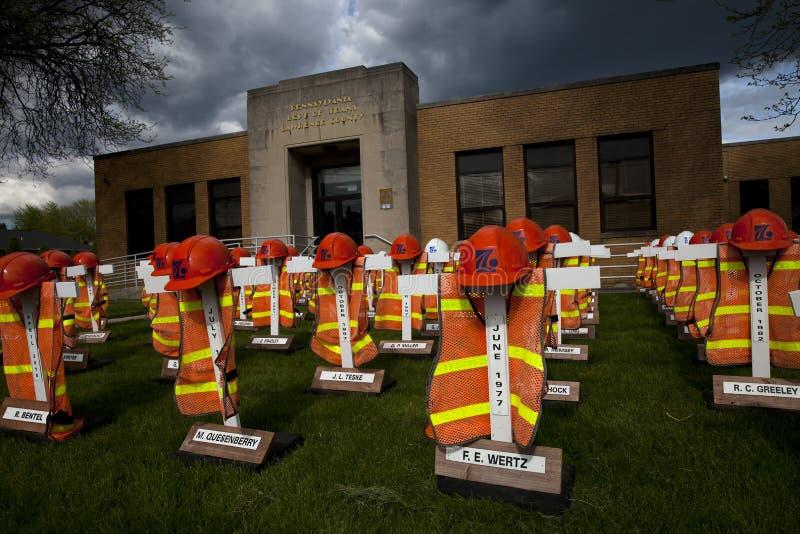 Memoriale del lavoratore di PENNDOT immagini stock libere da diritti
