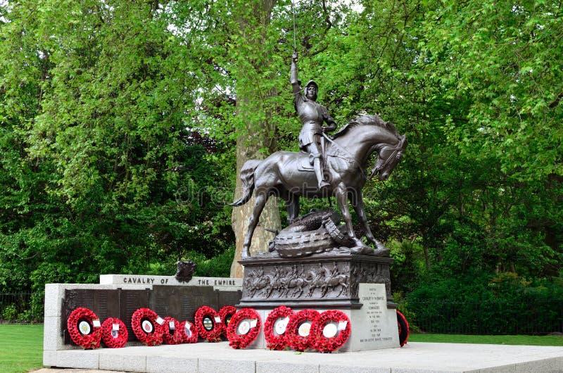Memoriale della cavalleria fotografia stock libera da diritti