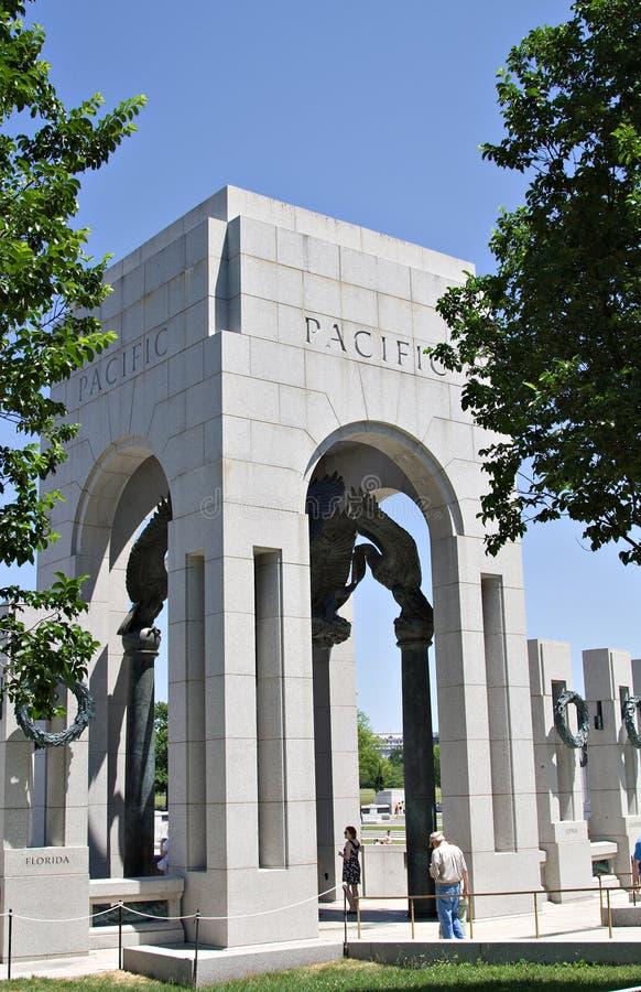 Memoriale della seconda guerra mondiale fotografia stock libera da diritti