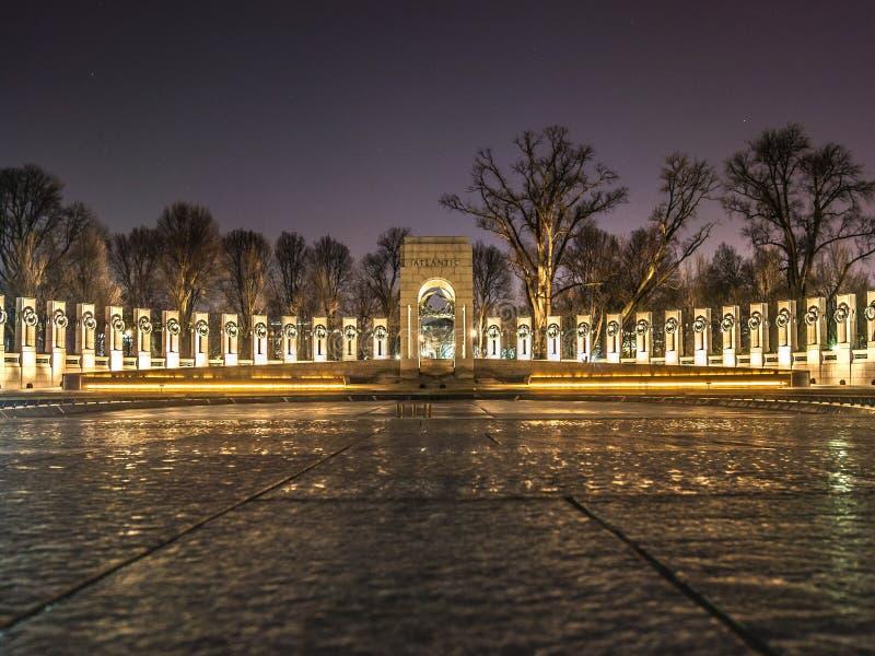 Memoriale della seconda guerra mondiale fotografia stock