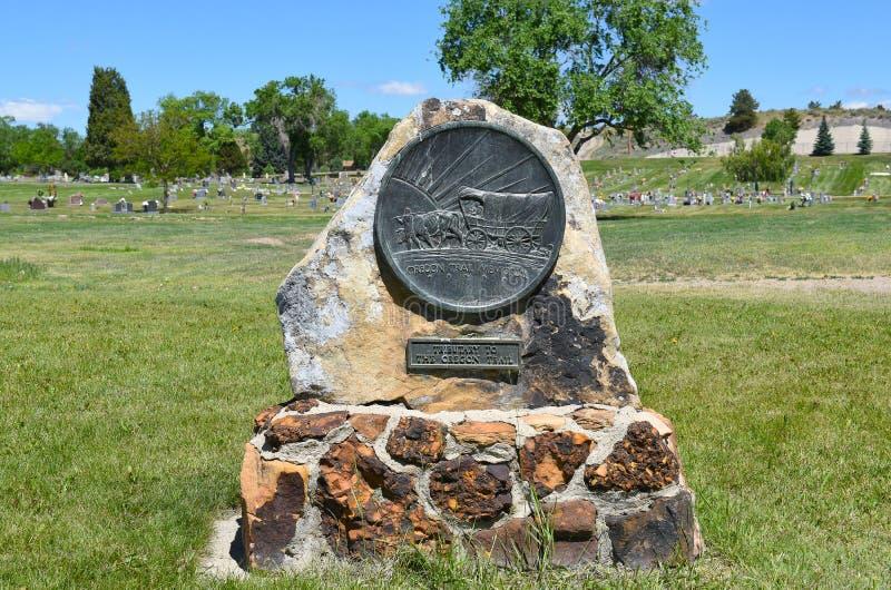 Memoriale della traccia dell'Oregon fotografia stock libera da diritti