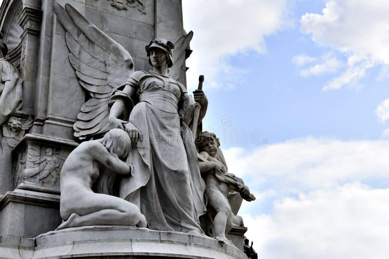 Memoriale della Victoria, Londra fotografie stock libere da diritti