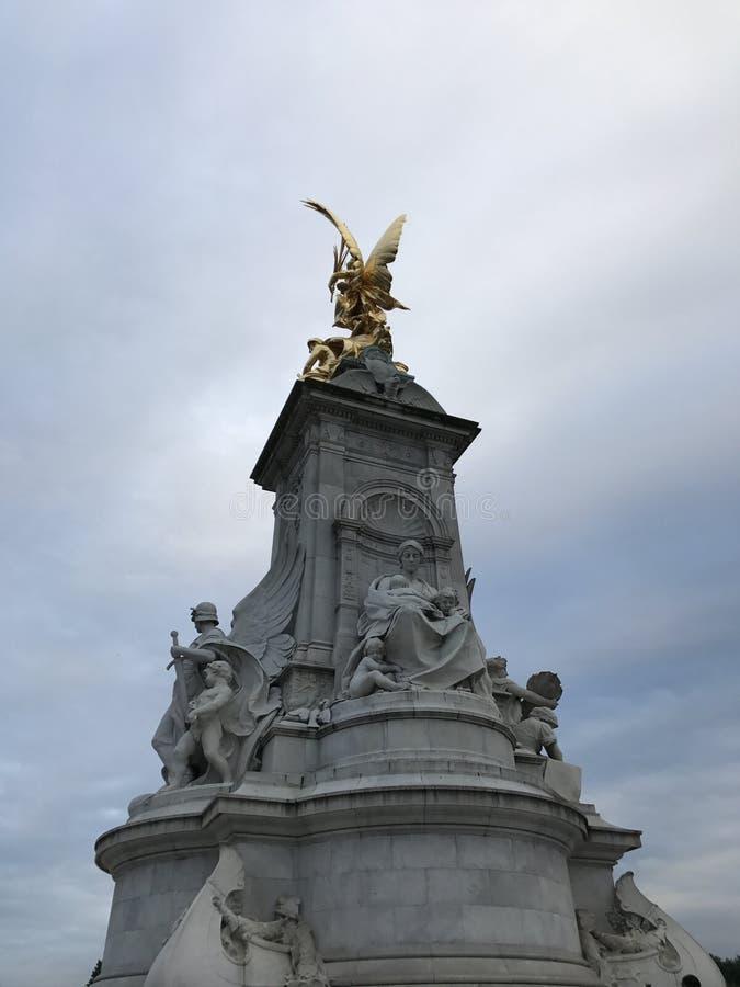 Memoriale della Victoria, Londra fotografia stock libera da diritti