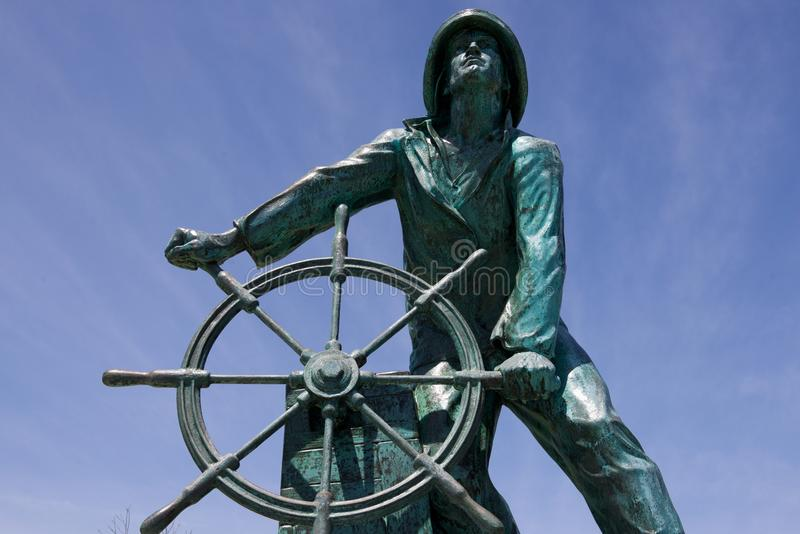 Memoriale di Gloucester Fisherman's (Gloucester, Massachusetts, U.S.A./7 giugno 2015) fotografie stock libere da diritti
