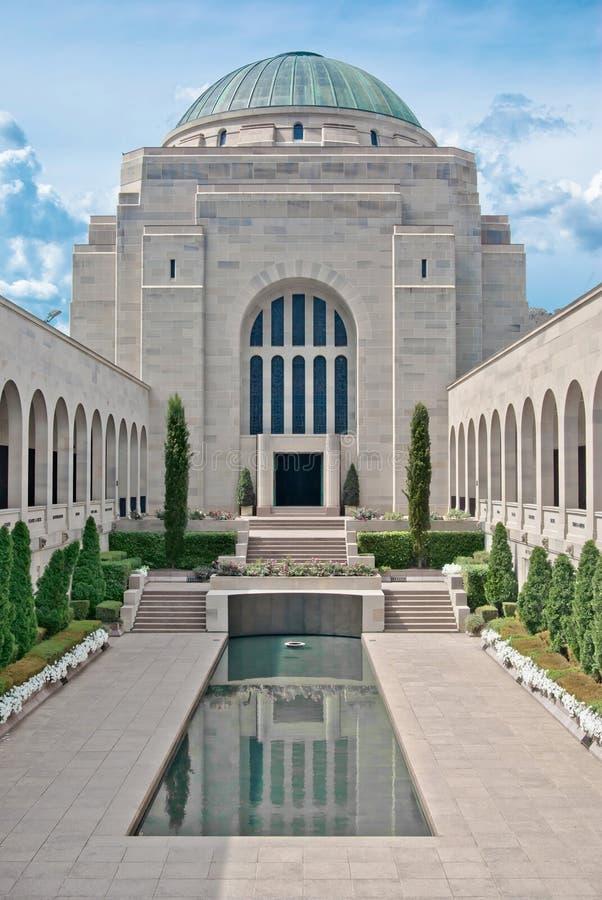 Memoriale di guerra australiano immagini stock libere da diritti