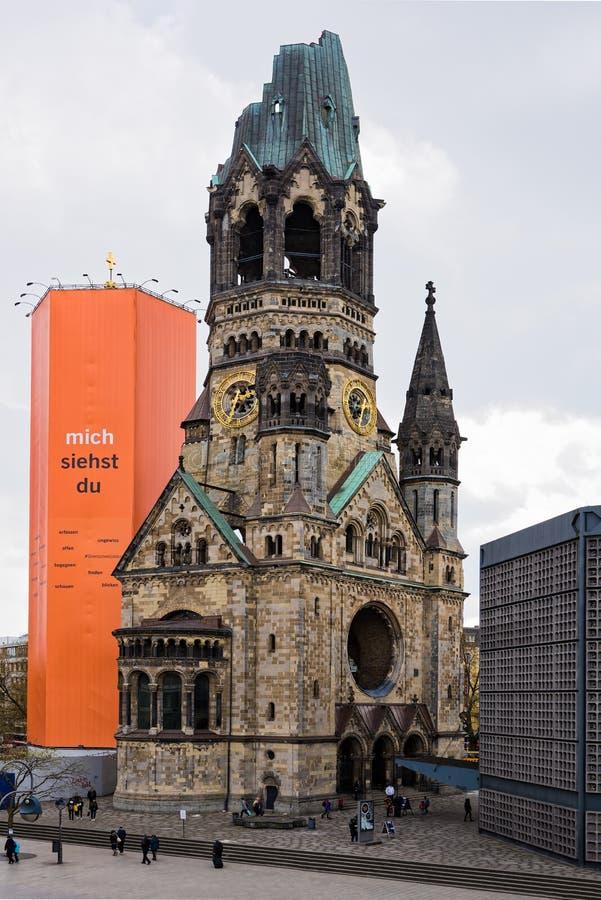 Memoriale di guerra a Berlino fotografie stock