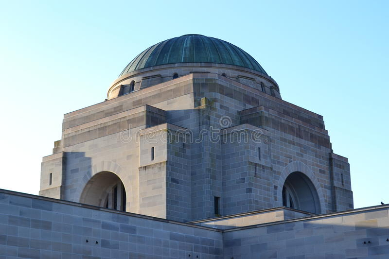 Memoriale di guerra a Canberra fotografie stock libere da diritti