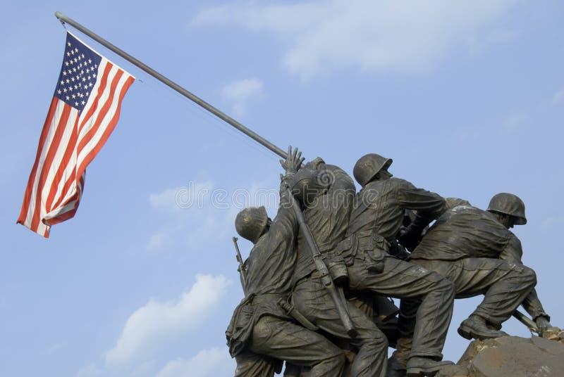 Memoriale di guerra del Corpo della Marina degli Stati Uniti fotografia stock