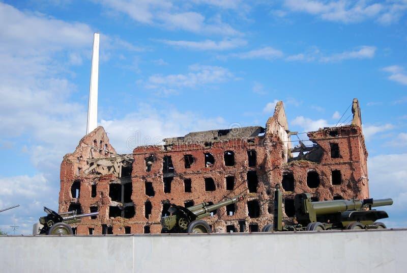 Memoriale di guerra di battaglia di Stalingrad a Volgograd fotografie stock
