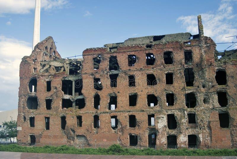 Memoriale di guerra di battaglia di Stalingrad a Volgograd, Russia immagine stock