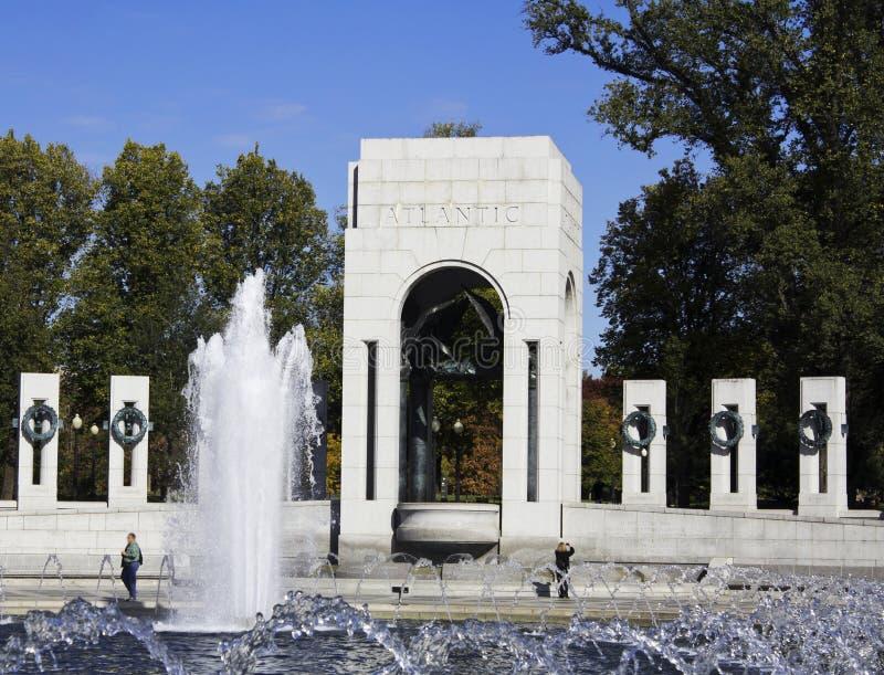 Memoriale di guerra mondiale 2 fotografia stock libera da diritti