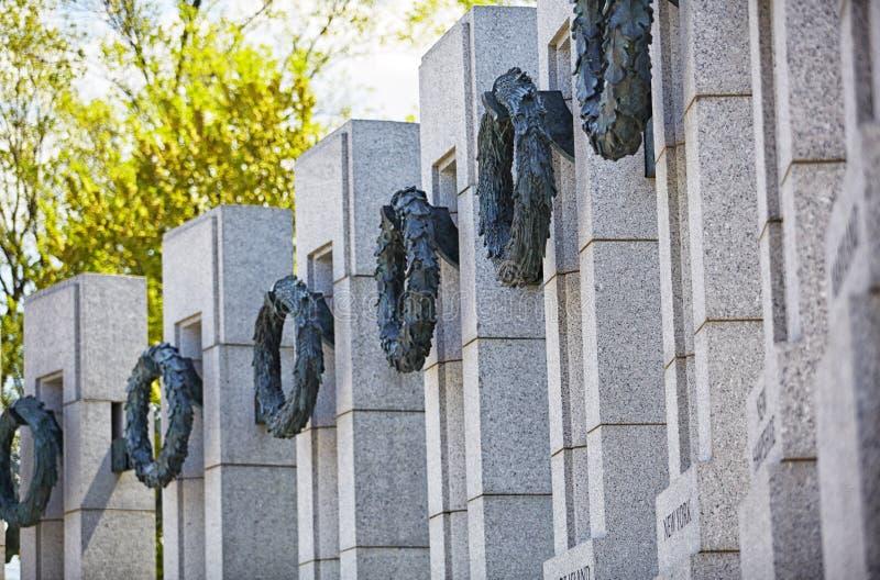 Memoriale di guerra mondiale delle corone degli stati 2 immagine stock libera da diritti