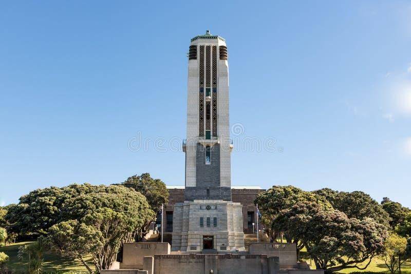 Memoriale di guerra nazionale della Nuova Zelanda fotografia stock libera da diritti
