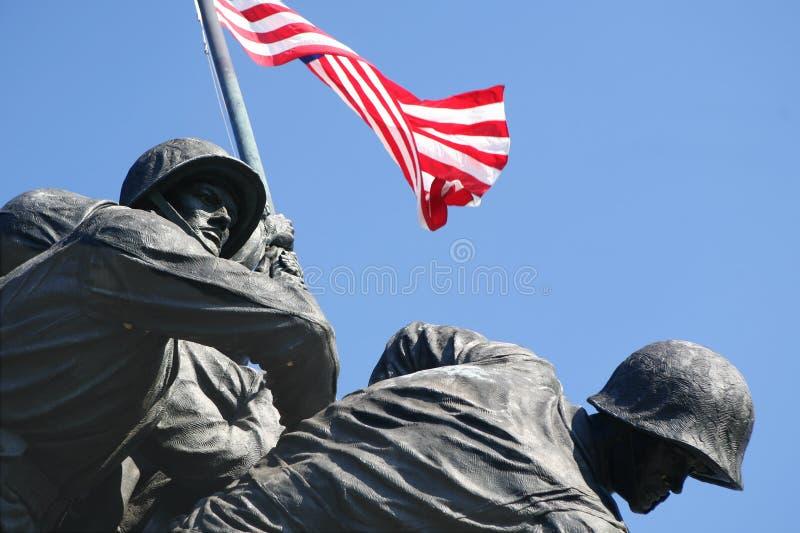 Memoriale di Iwo Jima immagini stock libere da diritti