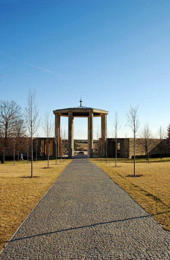 memoriale di lidice fotografia stock libera da diritti