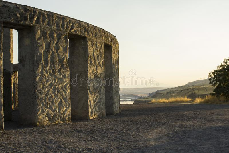 Memoriale di Stonehenge WWI, Washington fotografia stock