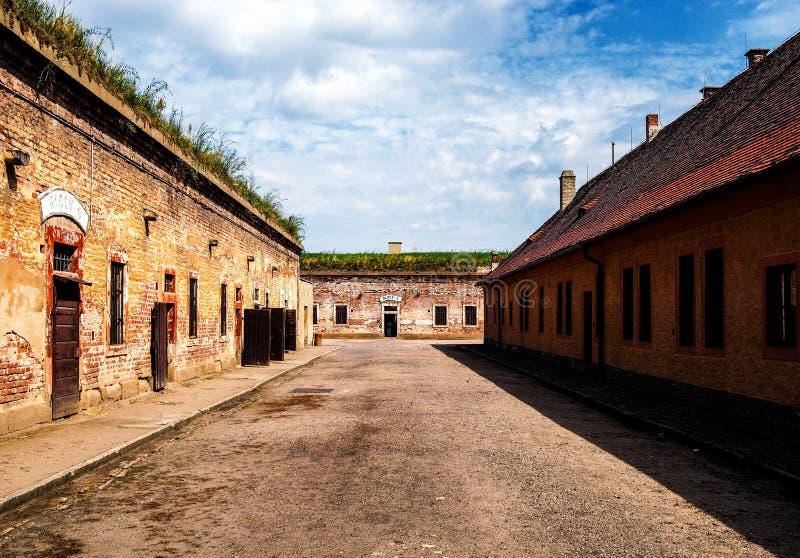 Memoriale di Terezin immagine stock libera da diritti